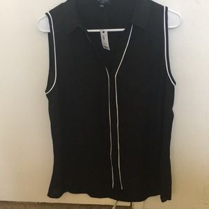 The Limited Ashton style collared top